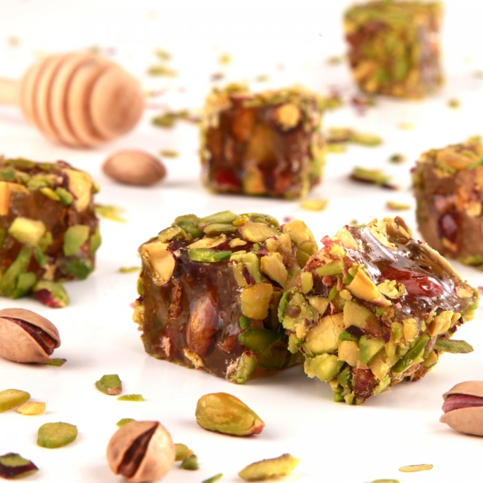 Turkish Delight Pistachio Covered with Honey