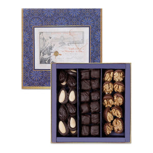 Chocolate Coated Madlen Mix Turkish Delight Box