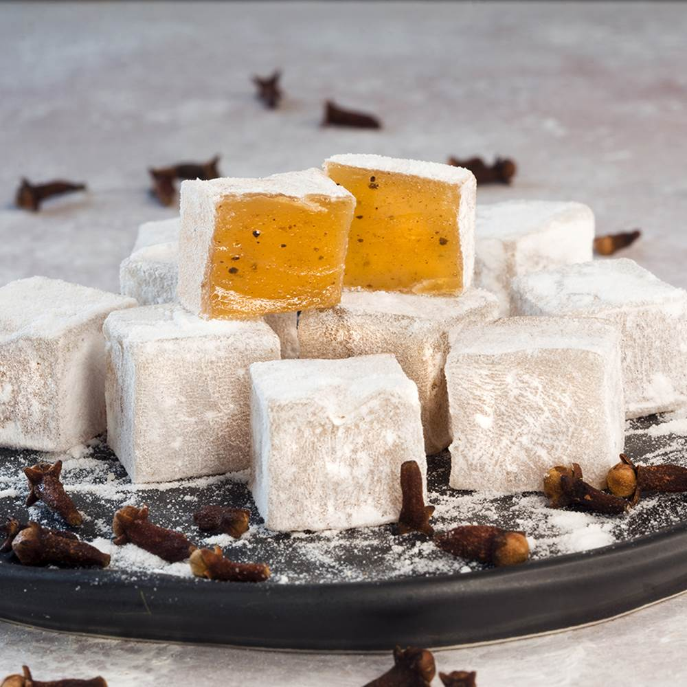 Turkish Delight with Clove - TurkishTaste.com