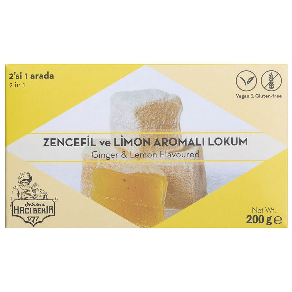Turkish Delight with Ginger and Lemon - TurkishTaste.com