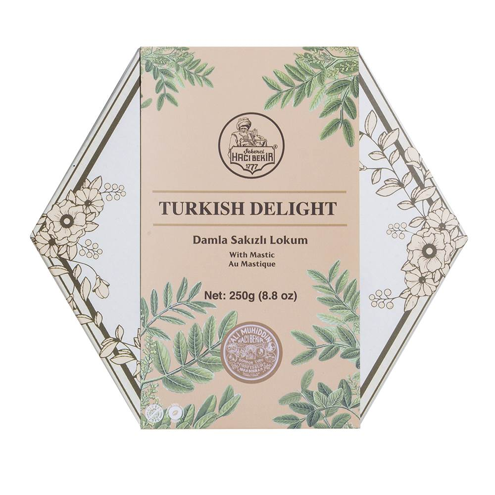 Turkish Delight with Mastic - TurkishTaste.com