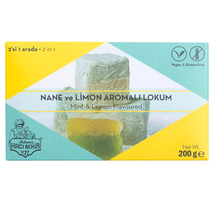Turkish Delight with Mint and Lemon Flavored - TurkishTaste.com