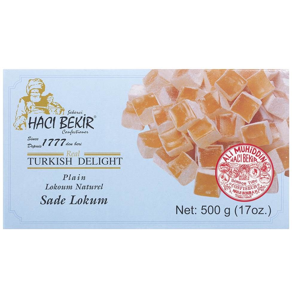 Plain Turkish Delight - TurkishTaste.com