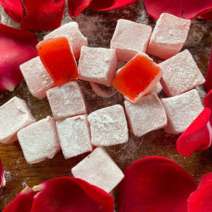 Turkish Delight with Rose Flavored