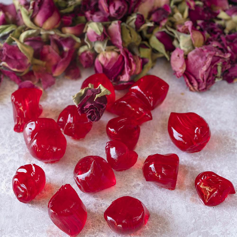 Rose Flavored Turkish Akide Candy - TurkishTaste.com