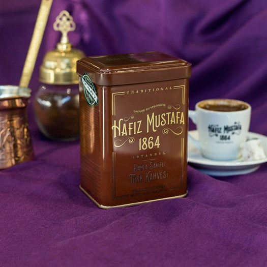 Turkish Coffee with Mastic Gum - TurkishTaste.com