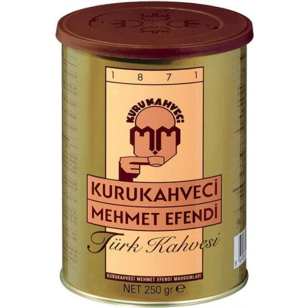 Turkish Coffee Kurukahveci Mehmet Efendi 250g - TurkishTaste.com