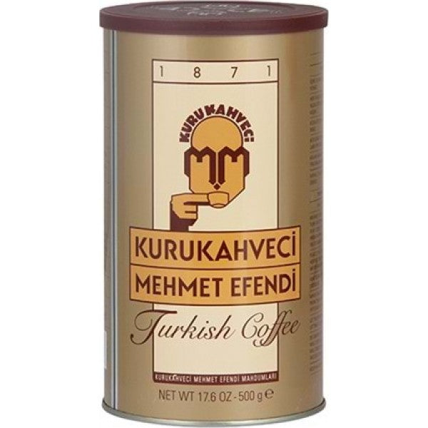Turkish Coffee Kurukahveci Mehmet Efendi 500g - TurkishTaste.com