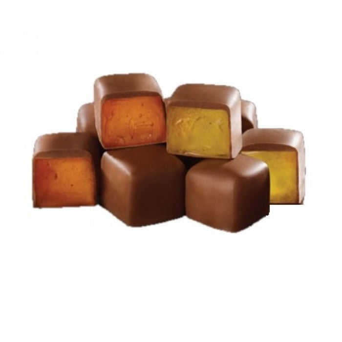 Turkish Delight Lemon and Orange Flavored Chocolate Coated - TurkishTaste.com