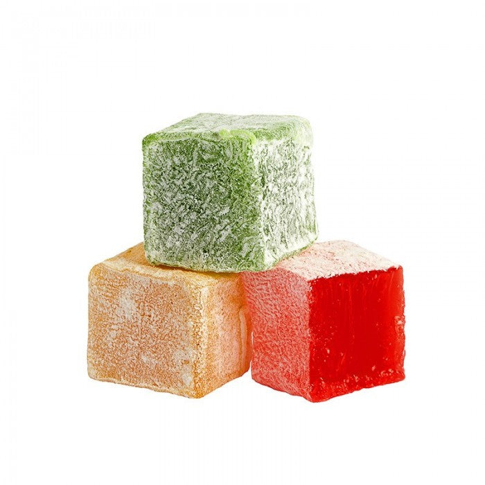 Turkish Delight with Rose, Mint and Lemon Flavored - TurkishTaste.com