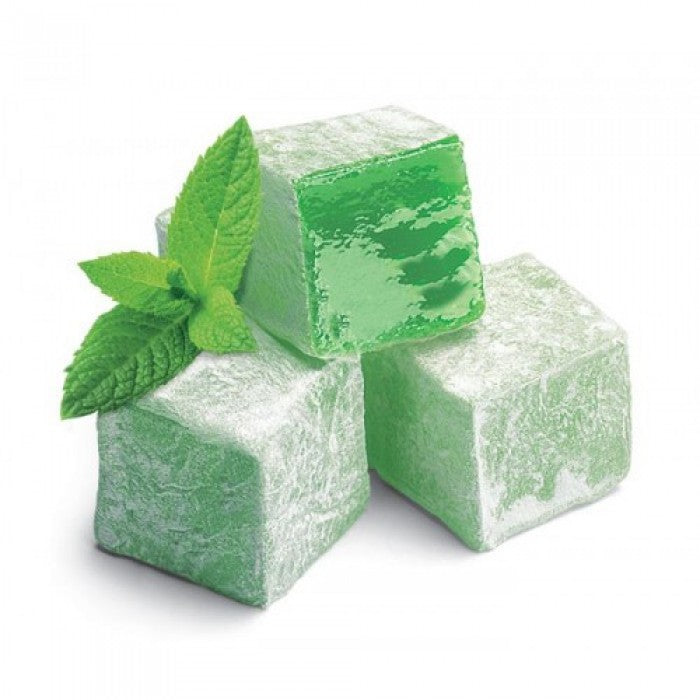 Turkish Delight with Mint Flavored - TurkishTaste.com