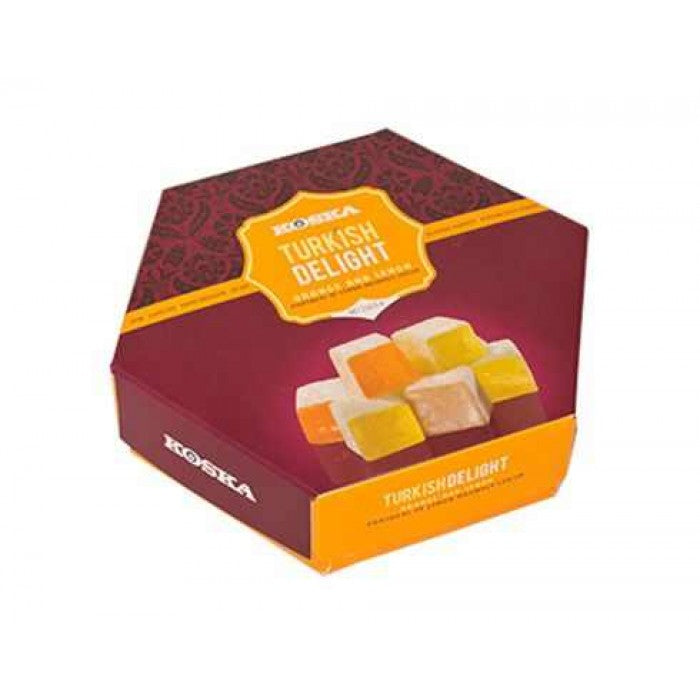 Turkish Delight with Orange and Lemon Flavored