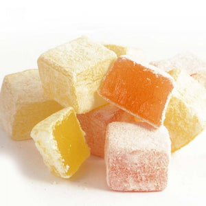 Turkish Delight with Orange and Lemon Flavored - TurkishTaste.com