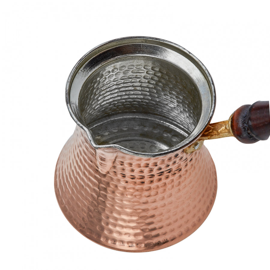 Copper Turkish Coffee Pot - Cezve