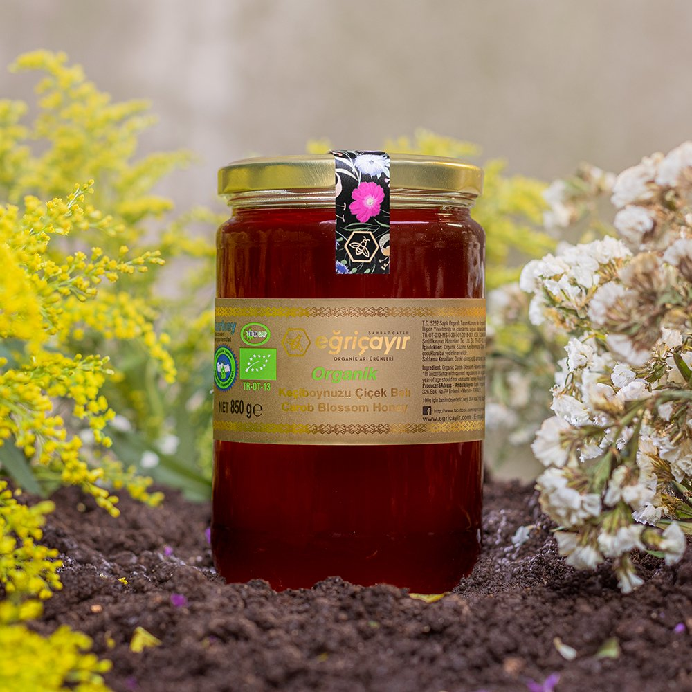 Organic Carob Flower Honey - TurkishTaste.com