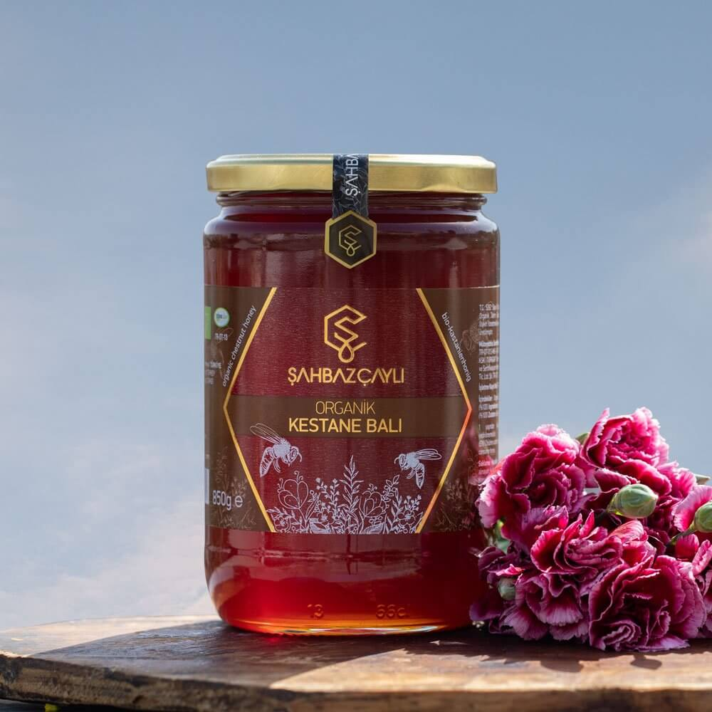 Organic Chestnut Honey - TurkishTaste.com