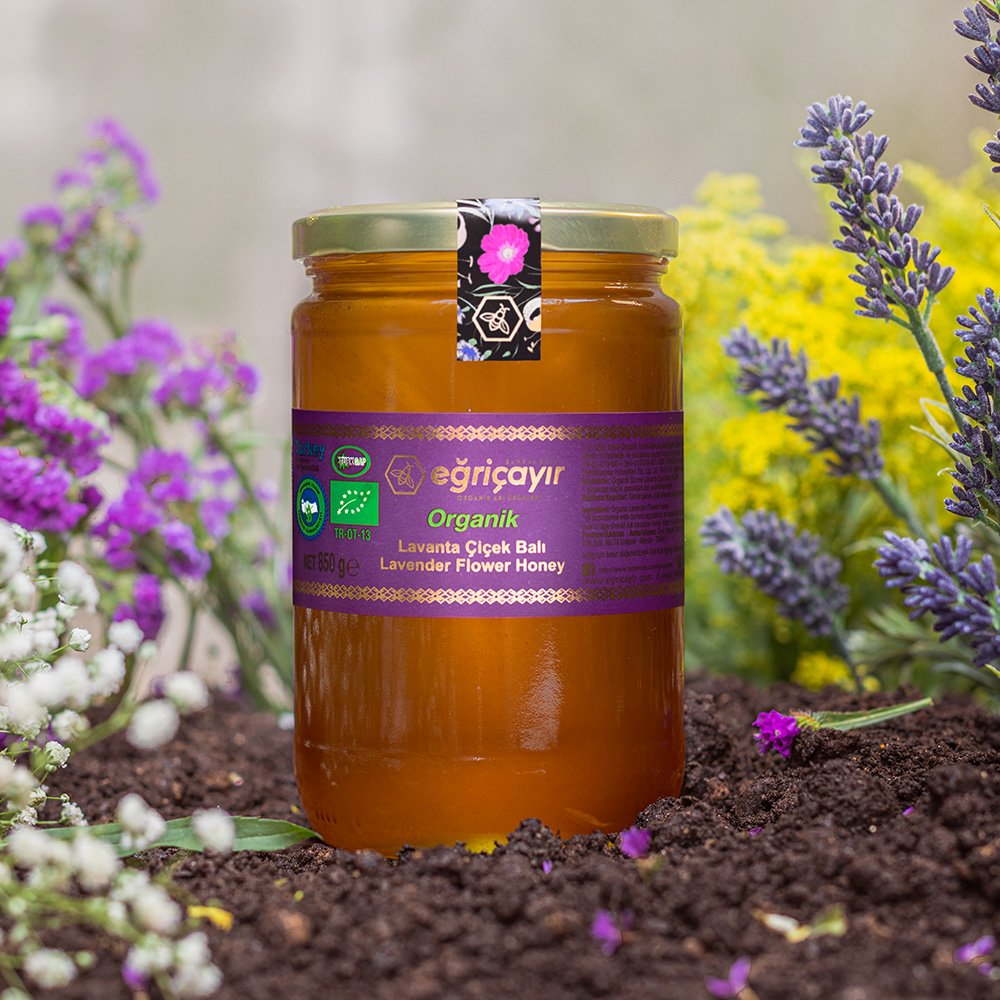 Organic Lavender Flower Honey - TurkishTaste.com