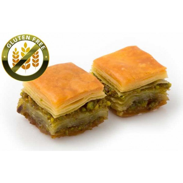 Fresh Gluten Free Baklava with Pistachio