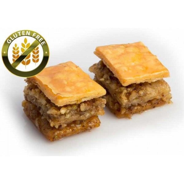 Fresh Gluten Free Baklava with Walnuts - TurkishTaste.com