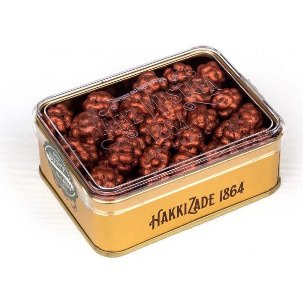 Coffee Bean Dragee Metal Box - TurkishTaste.com