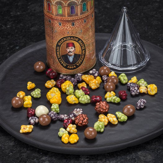 Assorted Dragee Galata Shaped Box - TurkishTaste.com