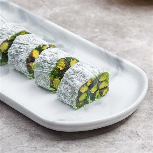 Kiwi Pistachio Turkish Delight