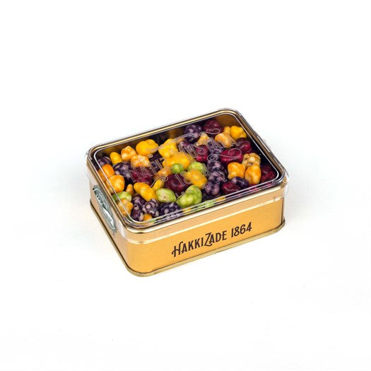 Assorted Dragee Metal Box - TurkishTaste.com