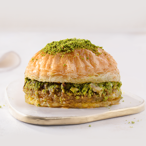 Baklava Burger with Pistachio