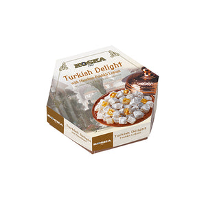 Turkish Delight with Hazelnut Flavored