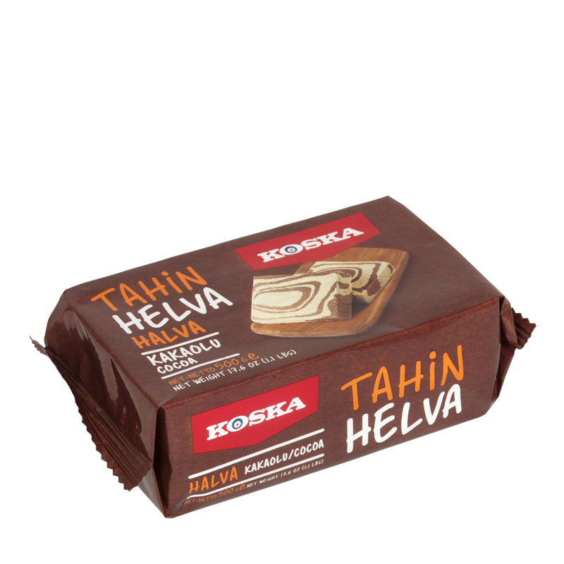 Turkish Tahini Halva Chocolate Flavored