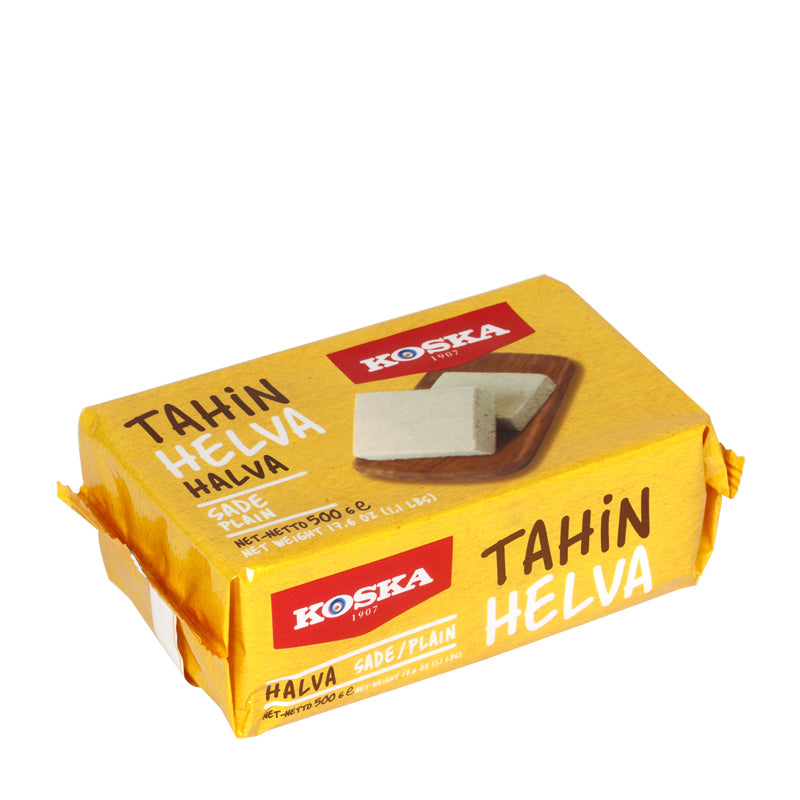Turkish Tahini Halva Plain