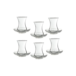 Classic Turkish Tea Glass Set