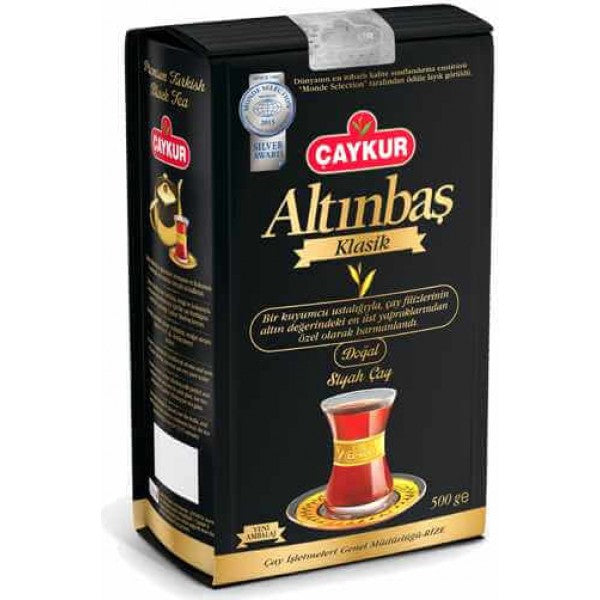 Turkish Black Tea Caykur Altinbas 500g - TurkishTaste.com
