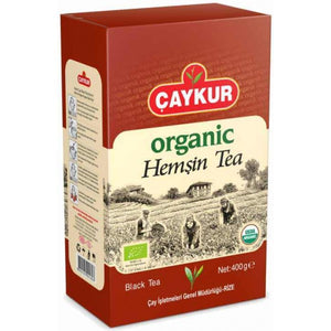 Organic Turkish Black Tea Caykur Hemsin 400g - TurkishTaste.com