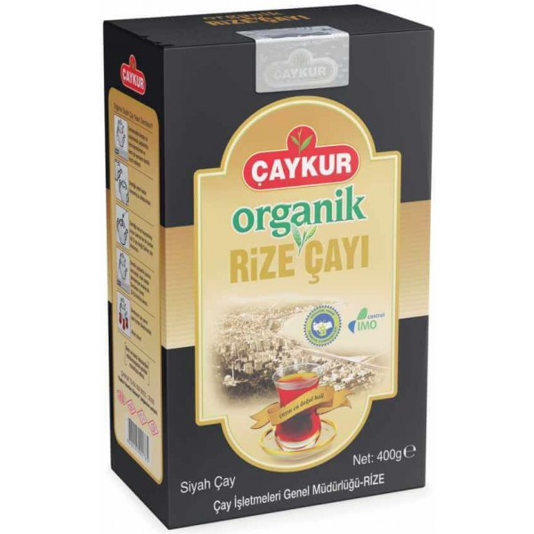 Organic Turkish Black Tea Caykur Traditional 400g - TurkishTaste.com