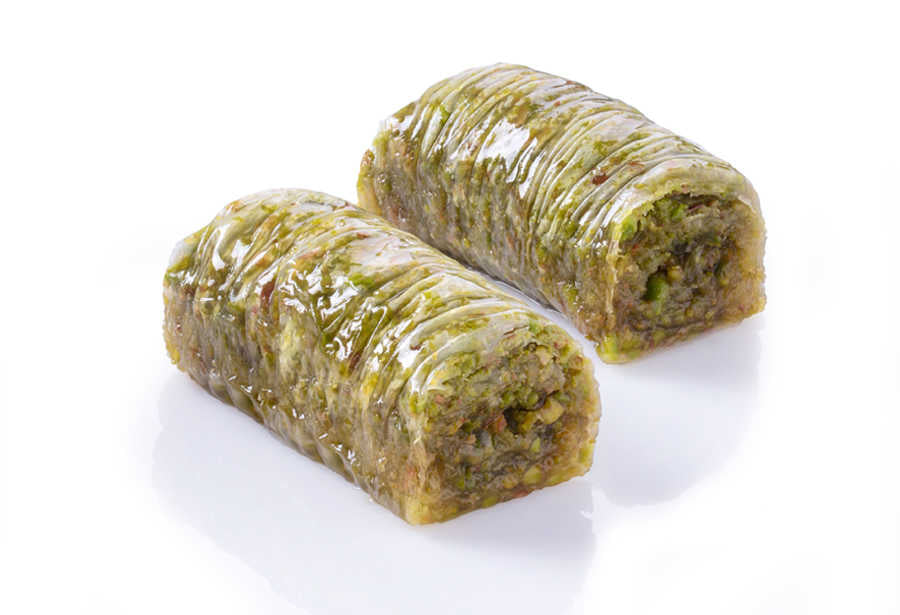 Fresh Wrap with Pistachio - TurkishTaste.com