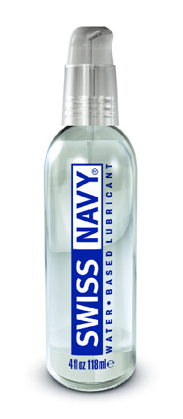Swiss Navy Water Based Lubricant 4oz/118ml - The Purple Drawer