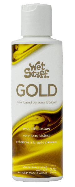 Wet Stuff Gold 270g Disc Top - The Purple Drawer