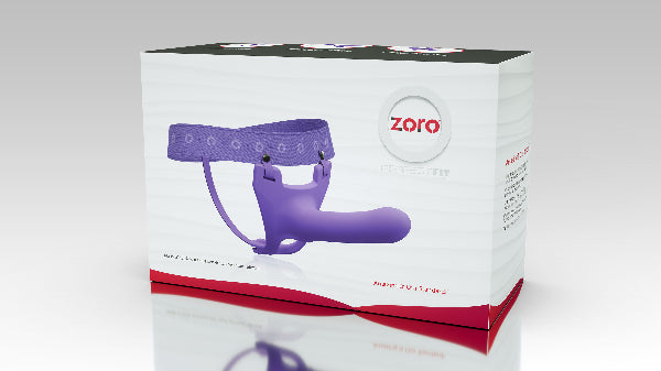 Zoro 5.5in Purple - PerfectFit - Adult Toys - purpleboxau