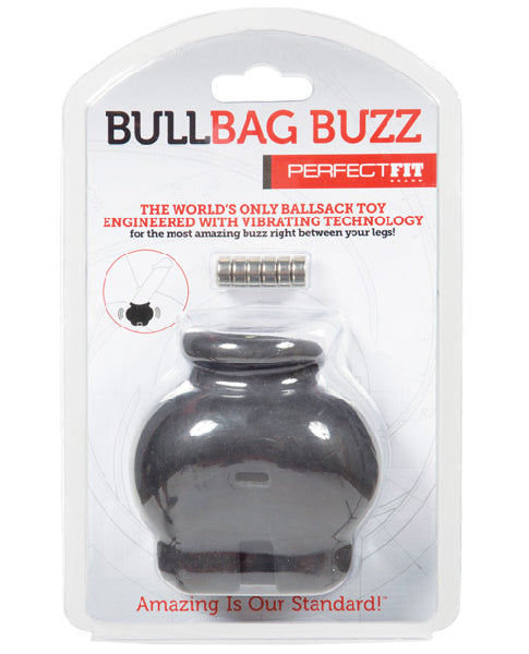 Bull Bag Buzz Blk - The Purple Drawer