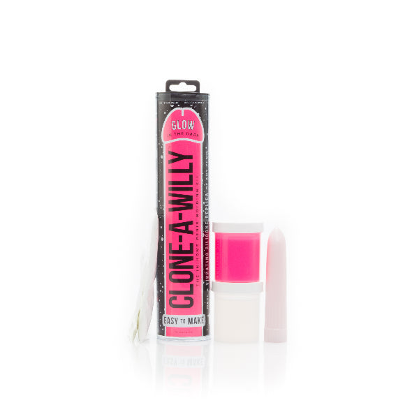Clone a Willy Glow in the Dark Hot Pink - The Purple Drawer