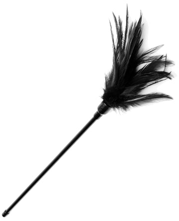 Le Plume Feather Tickler Black