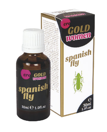 Ero Spanish Fly Gold Strong Women Drops 30ml - The Purple Drawer