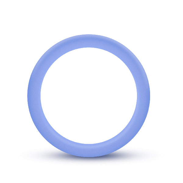 Performance Silicone Glo Cock Ring Blue Glow - The Purple Drawer