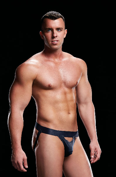 Low Rise Jock Navy - The Purple Drawer