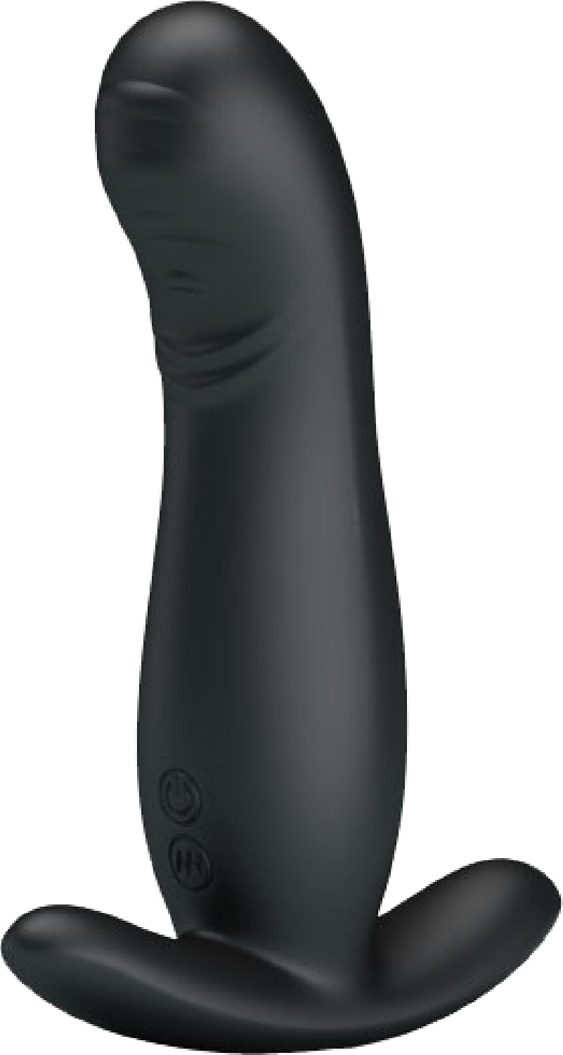 Prostate Massager (Black) - Pretty Love - Rechargeable - purpleboxau