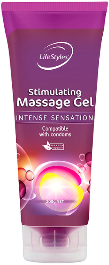 Stimulating Massage Gel 200g