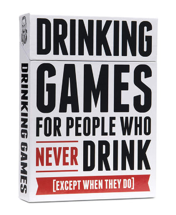 Drinking Games For People Who Never Drink - The Purple Drawer