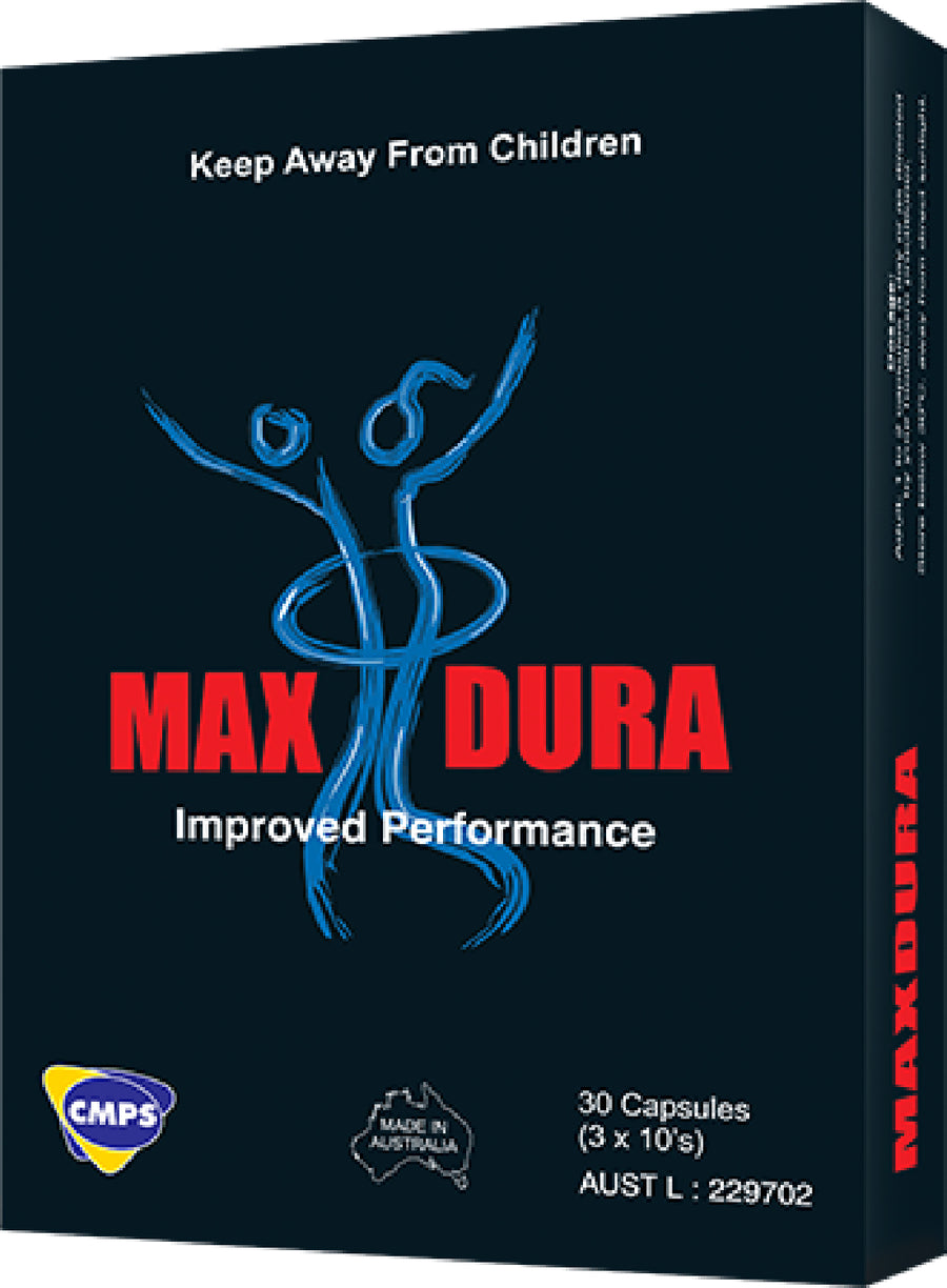 Max Dura - Performance Enhancer (30 Tablets) - The Purple Drawer