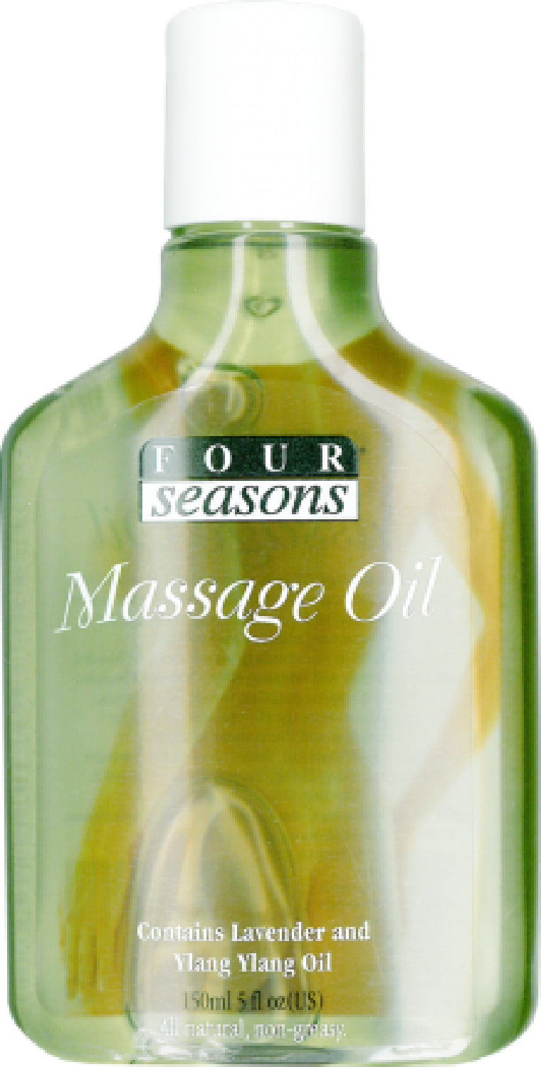 Massage Oil With Lavender & Ylang Ylang (150 Ml) - The Purple Drawer